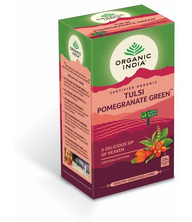 Organic India biologische Tulsi Pomegranate Green