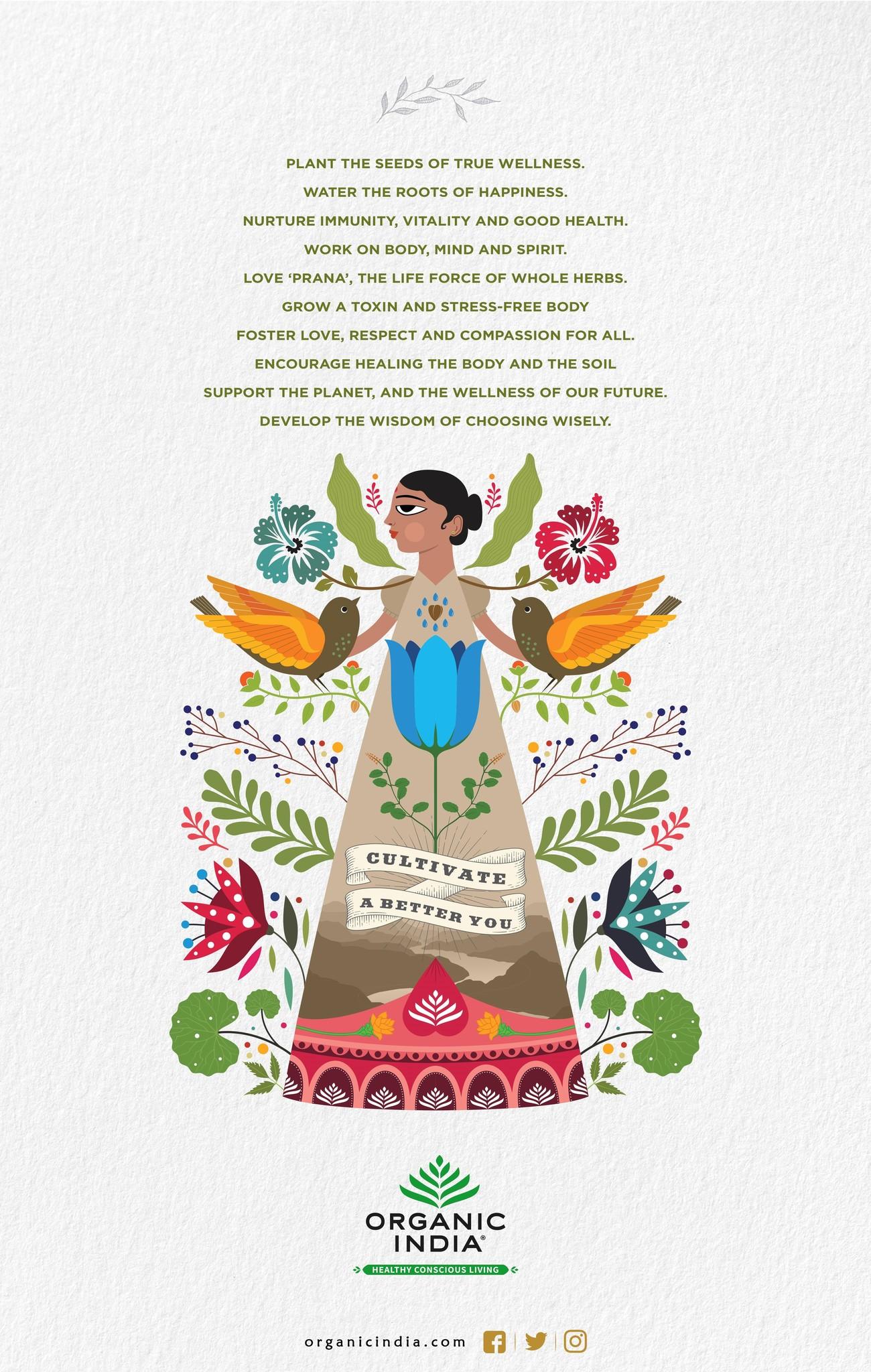 Corona en Organic India