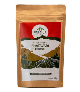 Organic India Shatavari poeder biologisch 100 g