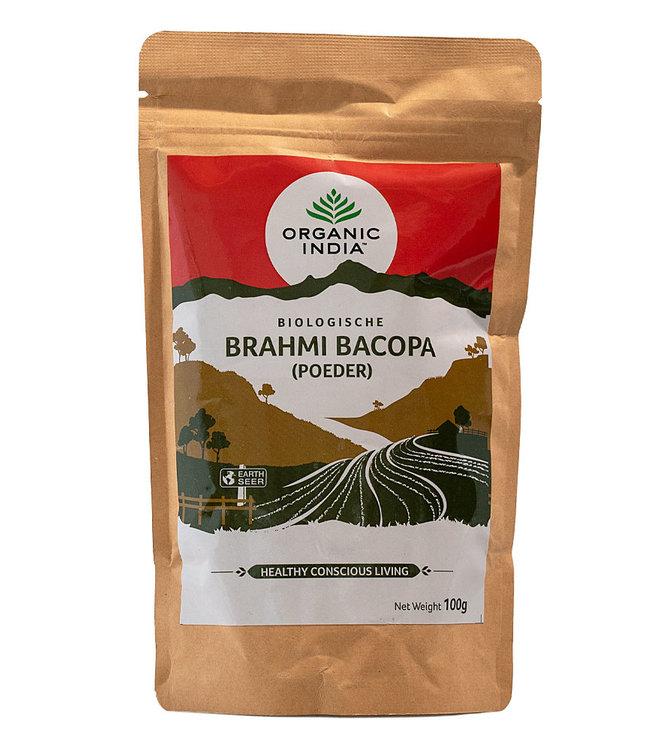 Organic India Brahmi~Bacopa poeder biologisch 100 g