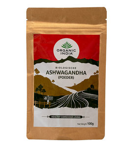 Organic India Ashwagandha poeder biologisch 100 g