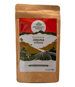 Organic India Arjuna poeder biologisch 100 g