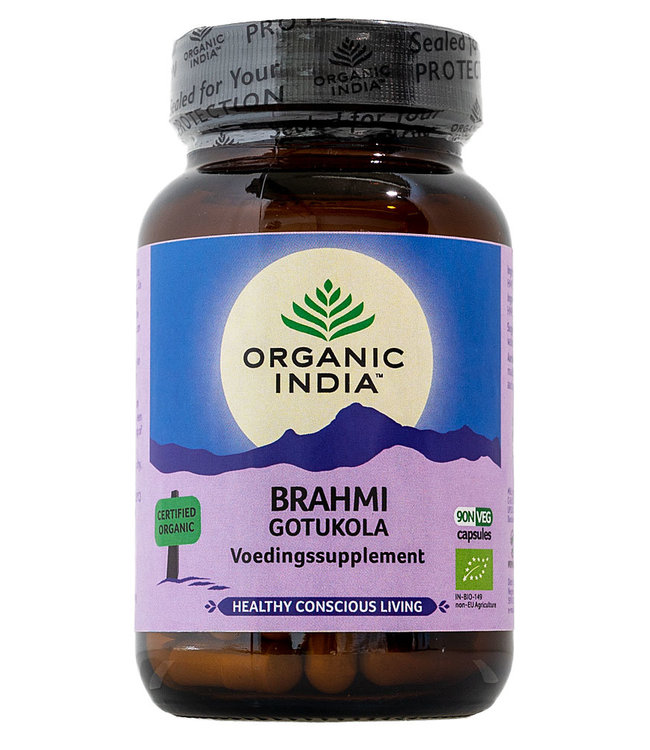 Organic India Brahmi~Gotu Kola 90 capsules