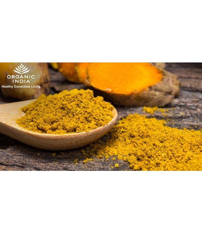 Organic India Kurkuma poeder biologisch 100 g
