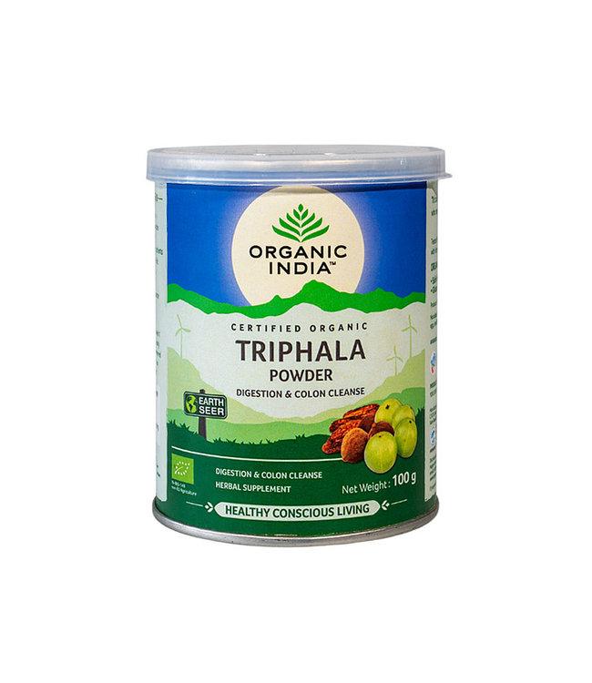 Organic India biologische Triphala powder 100 g can
