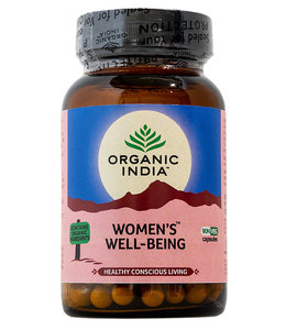 Organic India Women's Well-Being 90 capsules 100% biologisch