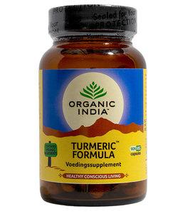 Organic India Kurkuma / Turmeric Formula 90 capsules 100% biologisch