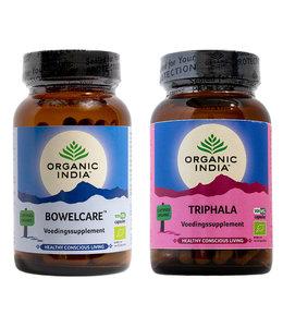 Organic India Combi bio Triphala en Bowelcare