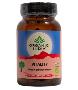 Organic India Vitality 90 capsules 100% biologisch