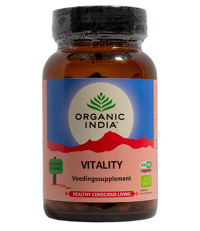Organic India Vitality 90 capsules
