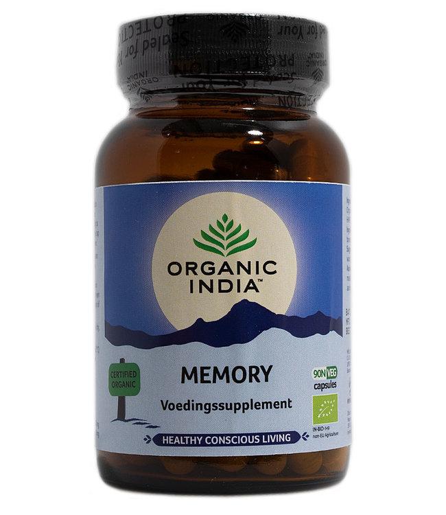 Organic India Memory 90 capsules