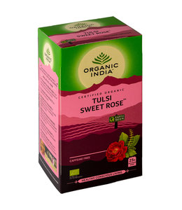 Organic India Biologische Tulsi Sweet Rose
