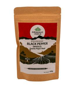 Organic India Zwarte peper heel biologisch 100 g