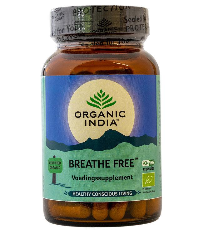 Organic India Breathe Free 90 capsules