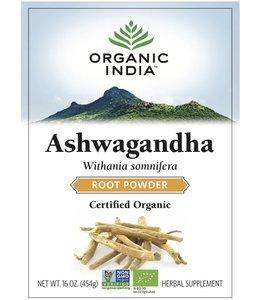Organic India Ashwagandha powder biologisch 450g