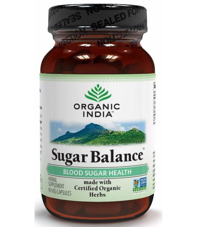 Organic India Sugar Balance 90 capsules