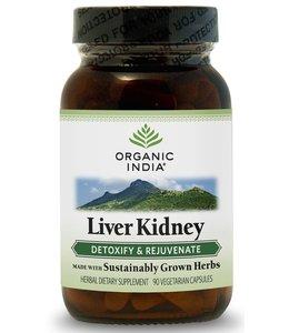 Organic India Liver Kidney 90 capsules 100% biologisch