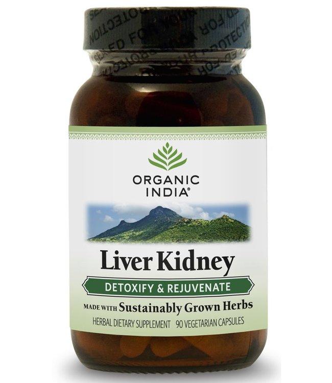 Organic India Liver Kidney 90 capsules