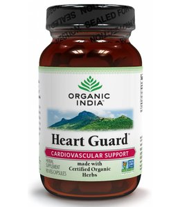 Organic India Heart Guard 90 capsules 100% biologisch