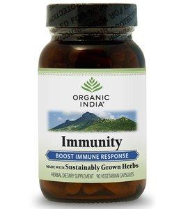 Organic India Immunity 90 capsules 100% biologisch