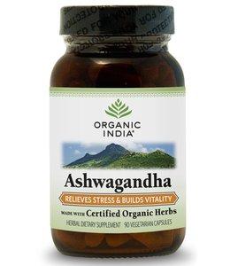 Organic India Ashwagandha 90 capsules 100% biologisch