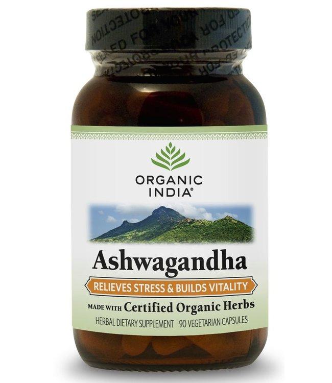 Organic India Ashwagandha 90 capsules