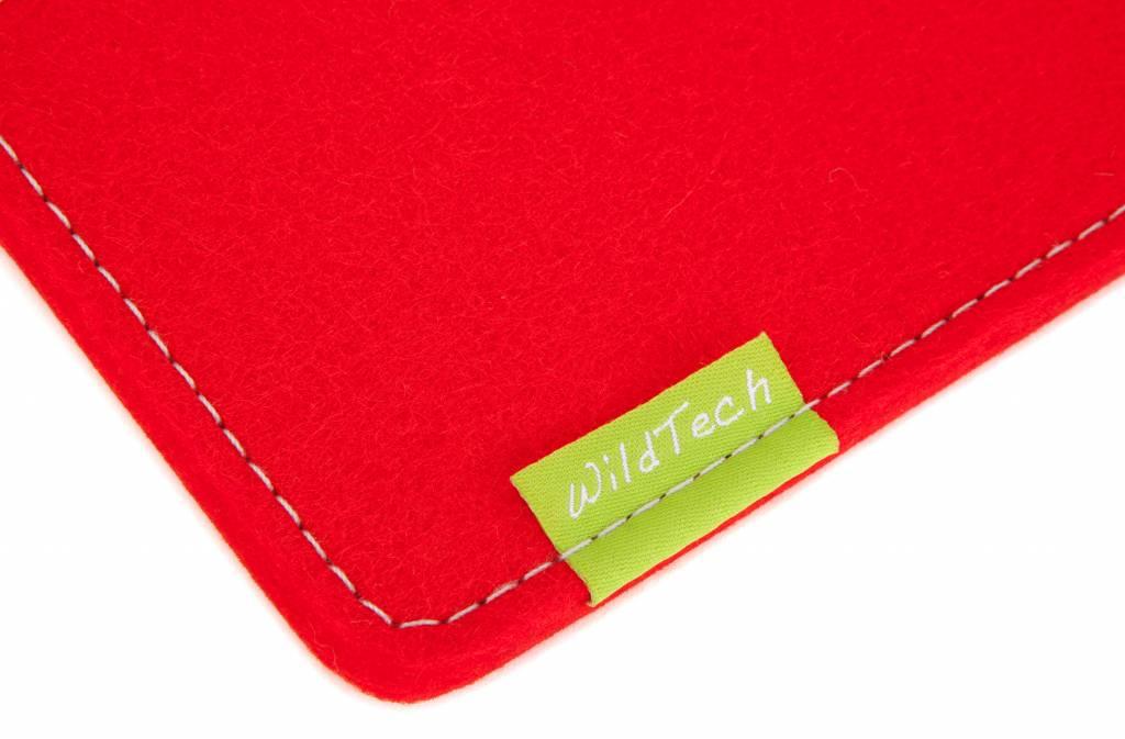 Tablet Sleeve Hellrot-2