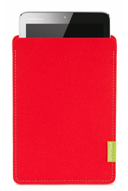 Tablet Sleeve Bright-Red