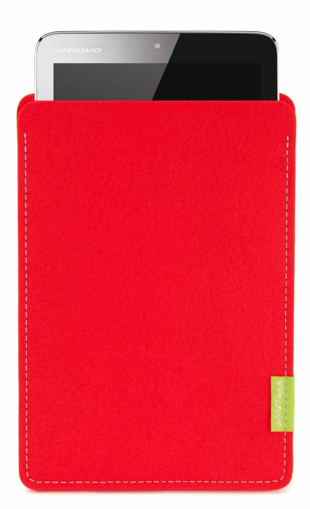 Tablet Sleeve Hellrot-1