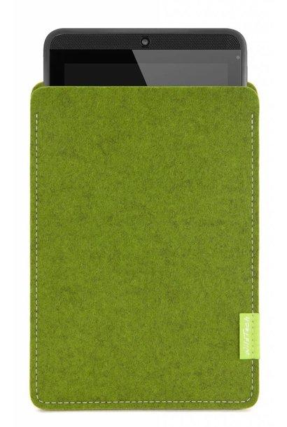 Tab Sleeve Farn-Green