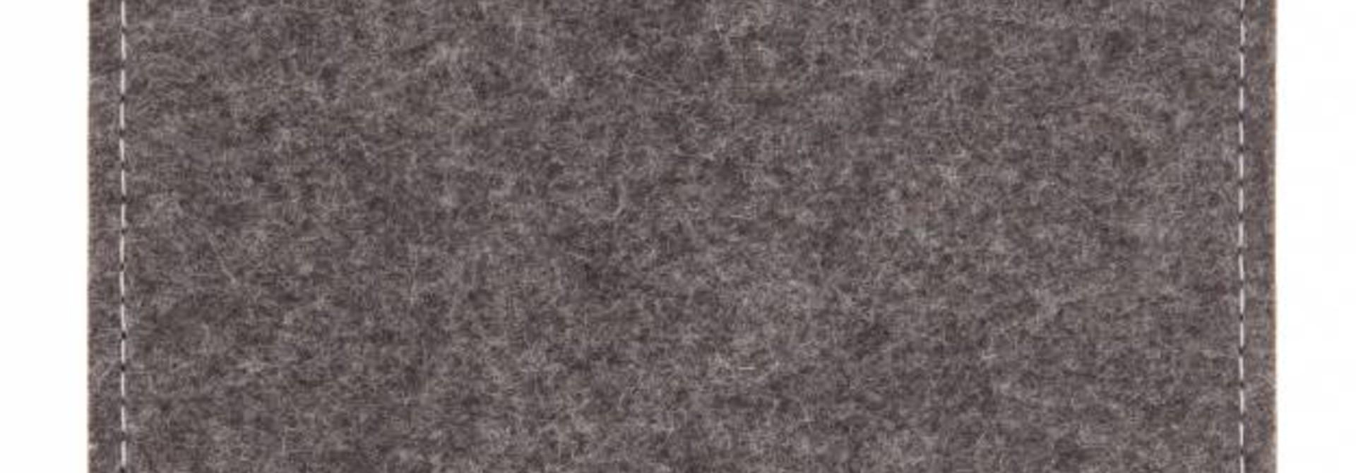 Tab Sleeve Grau