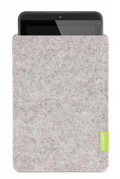 Tab Sleeve Light-Grey