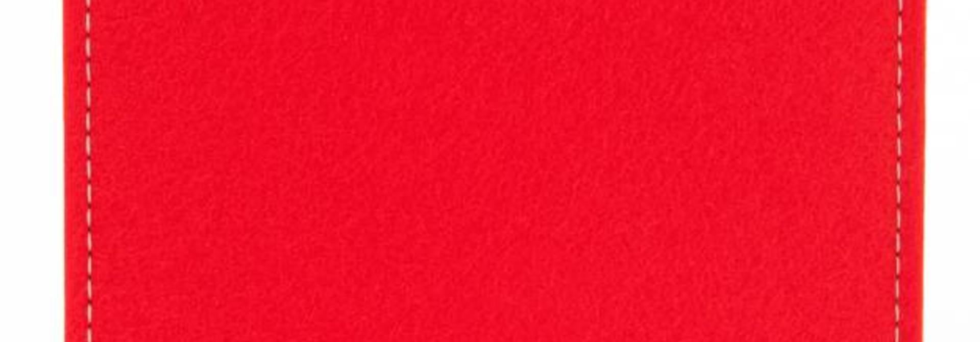 Tab Sleeve Bright-Red