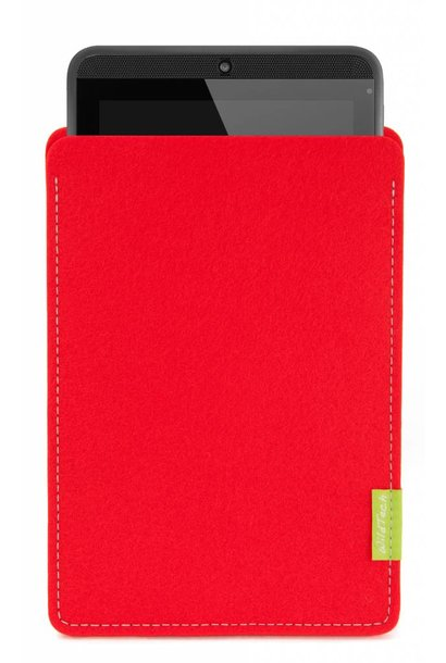 Tab Sleeve Bright-Red