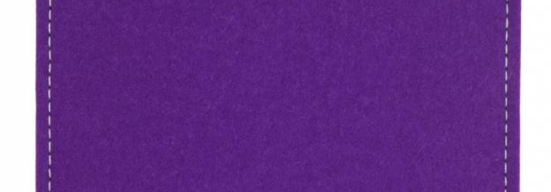 Tab Sleeve Purple