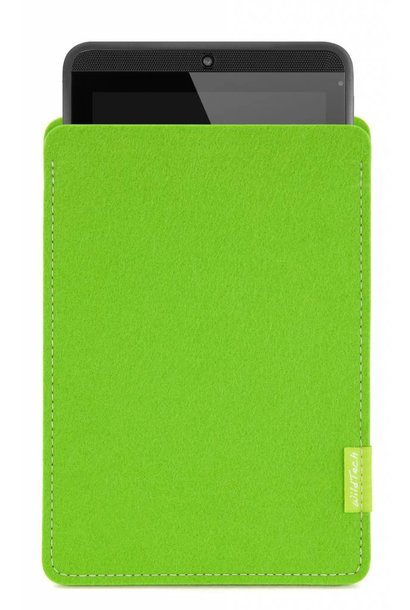 Tab Sleeve Bright-Green