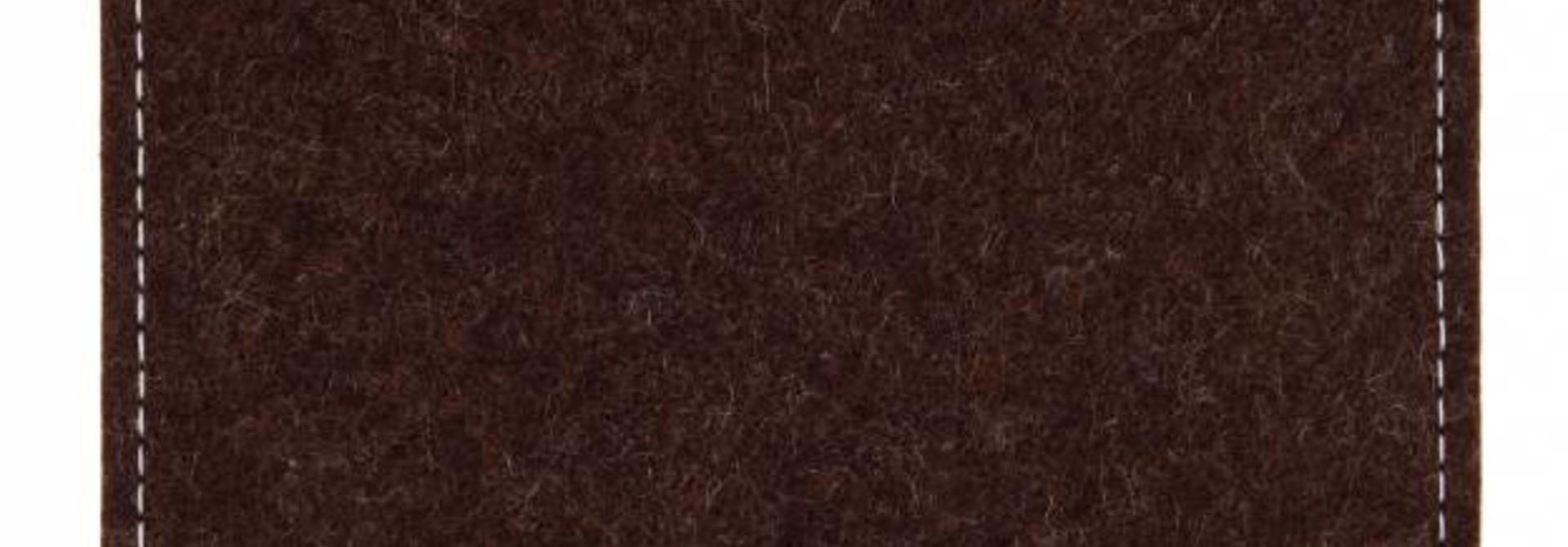 Tab Sleeve Truffle-Brown