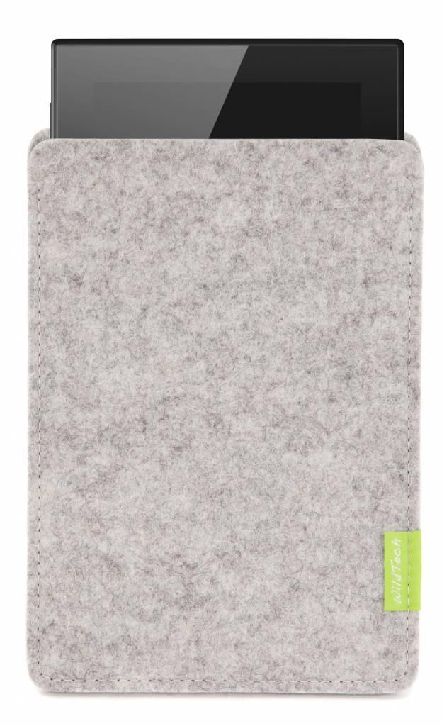 Lumia Tablet Sleeve Hellgrau-1