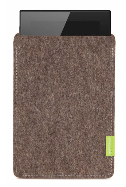 Lumia Tablet Sleeve Natur-Meliert
