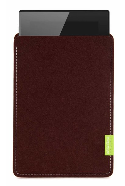 Lumia Tablet Sleeve Dunkelbraun