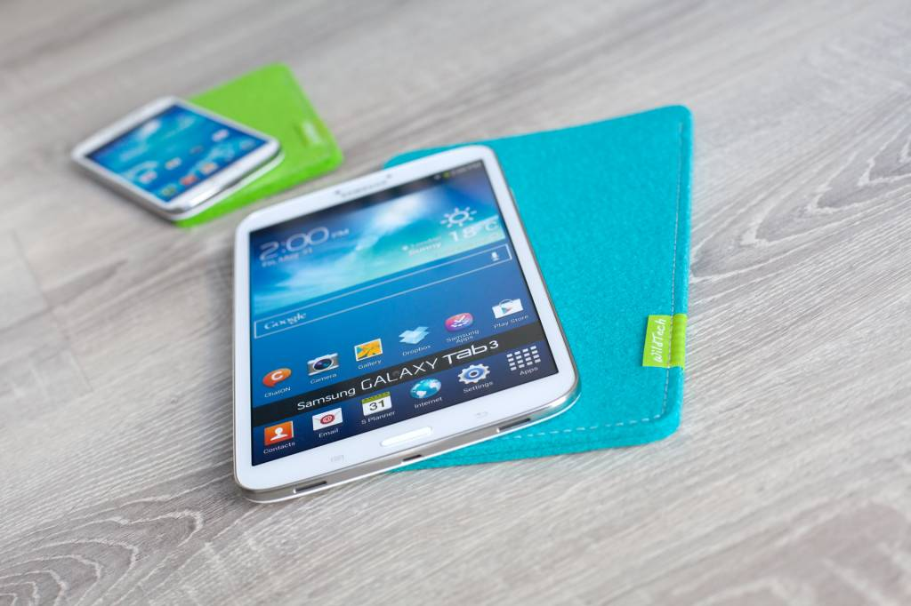Galaxy Tablet Sleeve Türkis-3