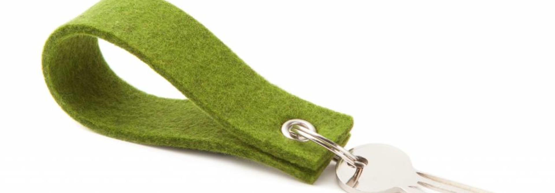 Keychain Farn-Green square
