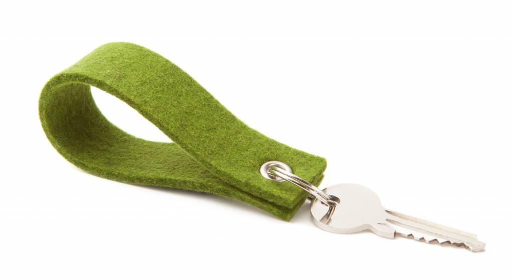 Keychain Farn-Green square-1