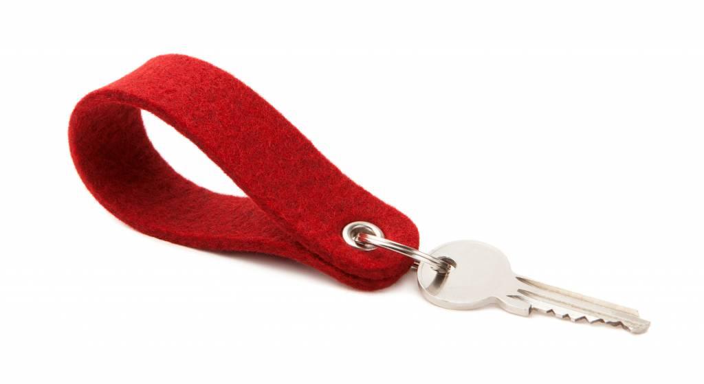 Keychain Cherry round-1