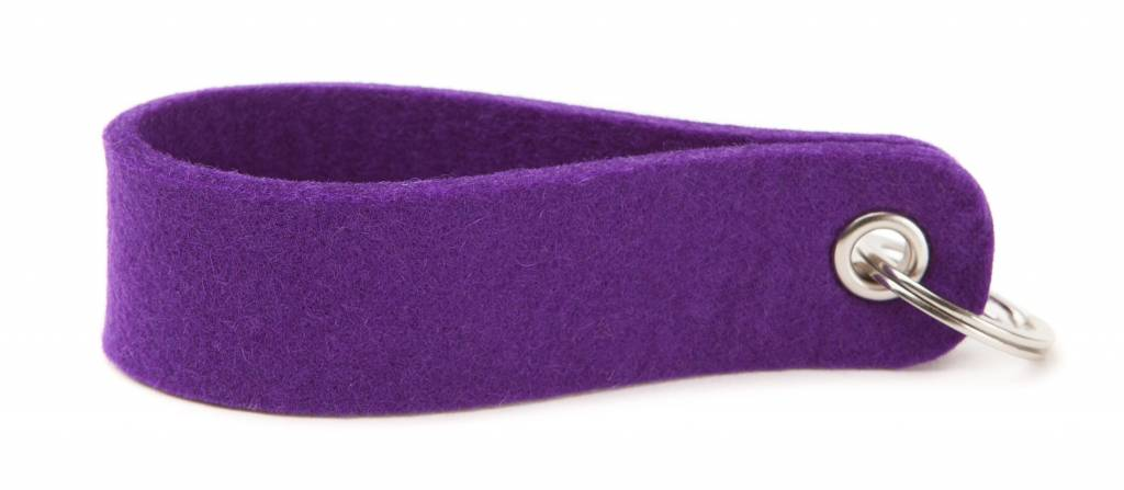 Keychain Purple round-2