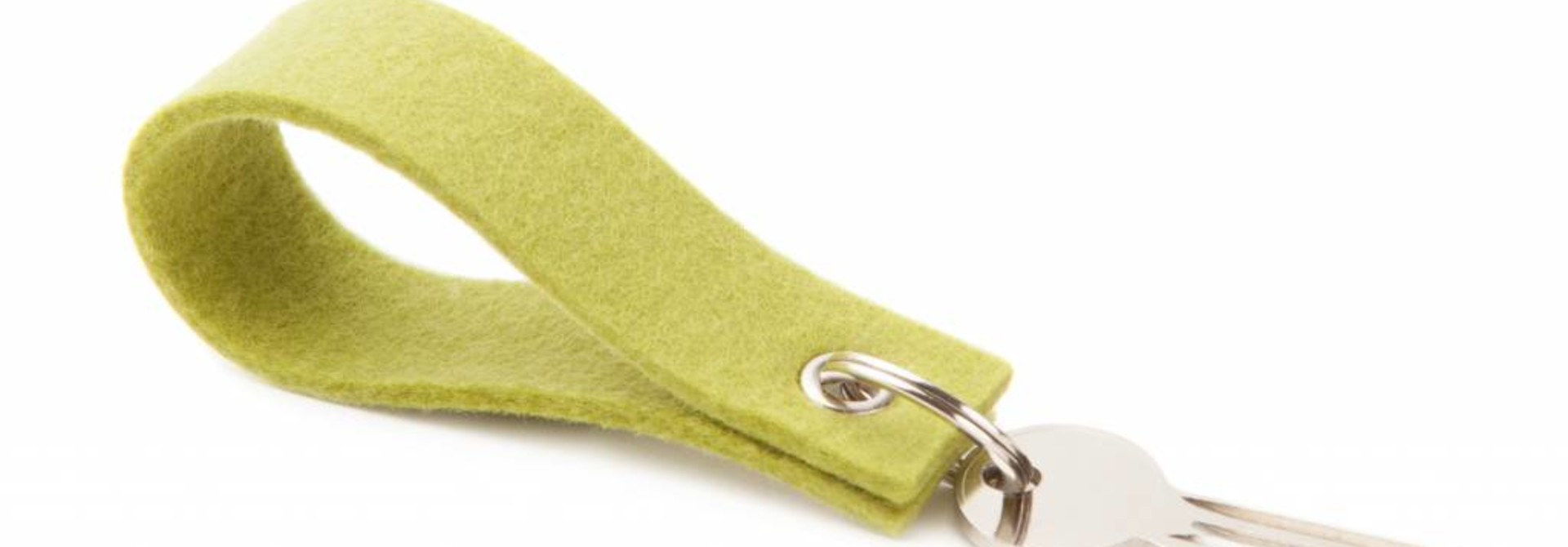 Keychain Lime-Green square