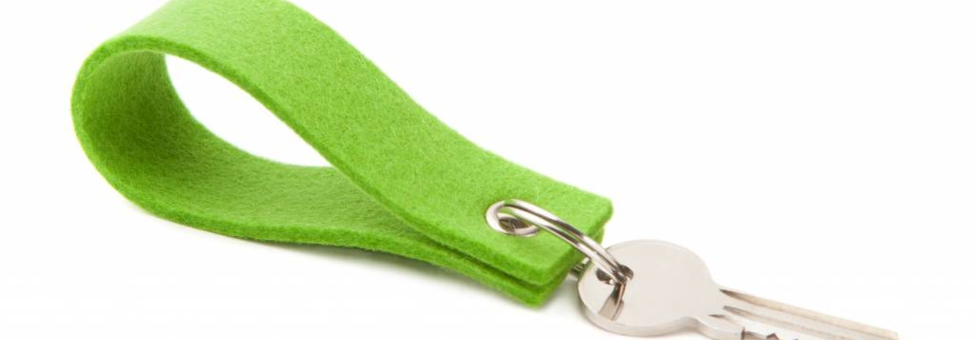 Keychain Bright-Green square