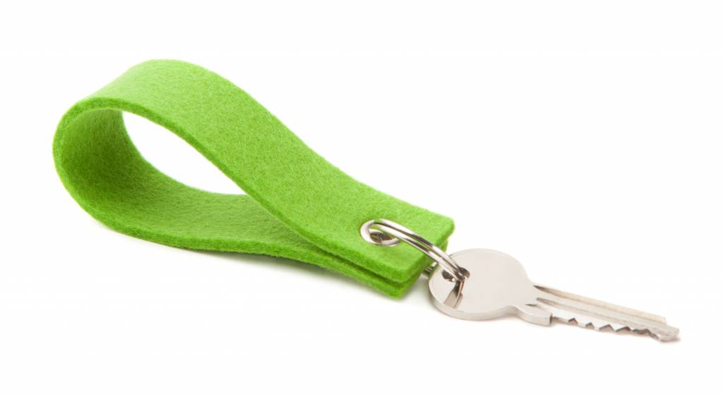 Keychain Bright-Green square-1