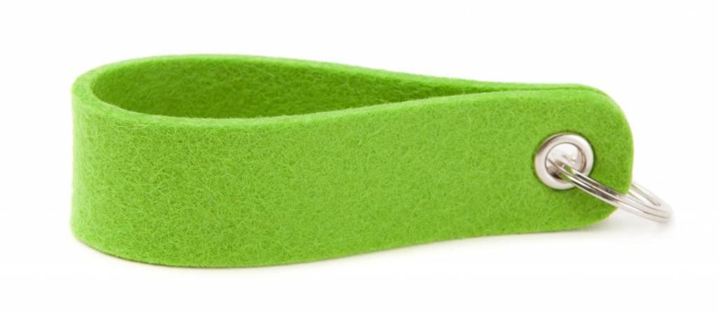 Keychain Bright-Green round-2