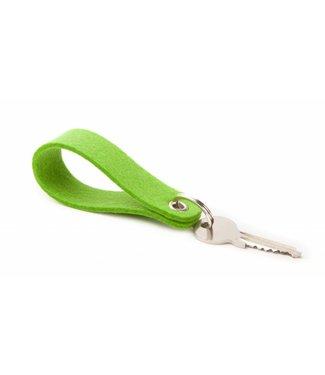 Schlüsselanhänger Maigrün rund